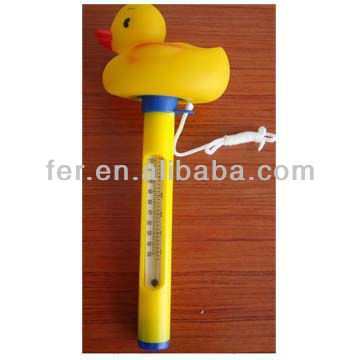 205096 New Designed Hot Sale Duck Shaped Thermometer
