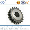 "OEM standard pitch 12.7mm 40A duplex roller chain 40T harden teeth 1/2"" driven split lock sprocket"