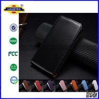 Luxury Genuine Real Leather Magnetic Flip Cover for Nokia Lumia 735 Mobile Phone Case Laudtec