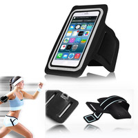 Outdoor sport running waterproof phone holder for iphone6/5S/5/4 water resistant bag with removable armband
