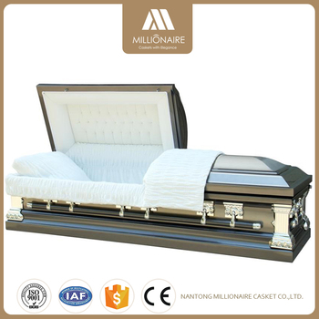 Top Quality steel metal casket for sale made in China