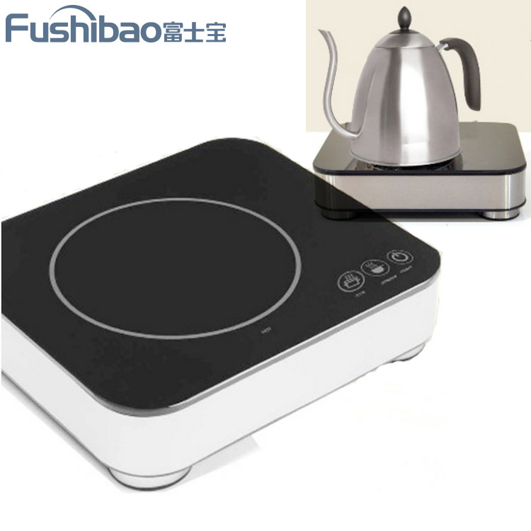 Portable SMART INDUCTION COOKTOP WITH ARABIC COFFEE MAKER