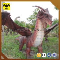 HLT Chinese manufacture garden decoration animatronic dragon