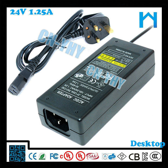New products for Led strip ac adaptor ac 230v dc 24v 1.25a