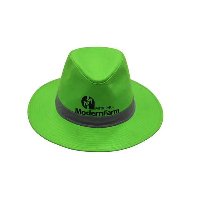 Custom Fedora Hats Green Top Hat
