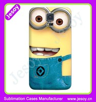 JESOY High Quality 3D Sublimation Protective Handmade Cases For Samsung Galaxy Note 2 3 4 5 Back Cover Case