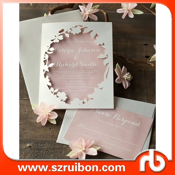 Custom Lastest Wedding Card Designs English Ination Decoration Items