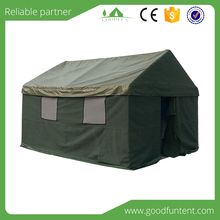 Popular permanent Waterproof canvas camping kitchen tent Military Tent