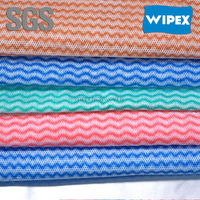 Hangzhou factory WIPEX chemical bond nonwoven cleaning cloth,lightweight cloths,basic household products