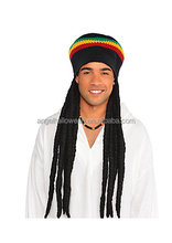 Rasta Dreadlocks Dread Wig Hat Tam synthetic wig FW2125