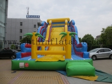 global sales giant inflatable slip slide for kids and adults