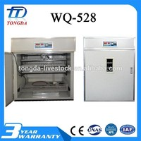 ISO approved boiled quail egg peeling machine with low price transparent mini incubato wq96