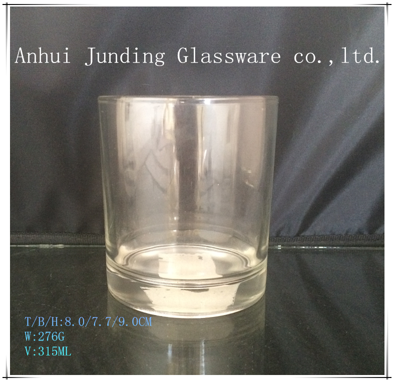 Wholesale Color Glass Candle Holder With custom logo