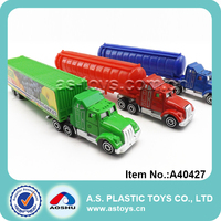 Funny kids diecast toy tanker truck