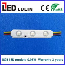 5050 smd injection wholesale led light module 0.96w led rgb light warranty 3 years for commercail lighting