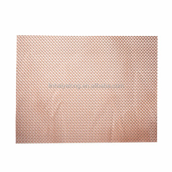 Wholesale cheap eco-friendly recycled polyester felt placemats