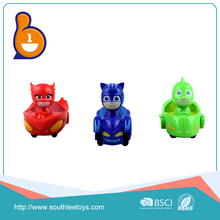 most popular china cartoon man inertia pajamas friction toy cars for children