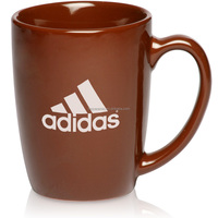 14oz brown glazed advertising ceramic coffee mug ceramic coffee cup