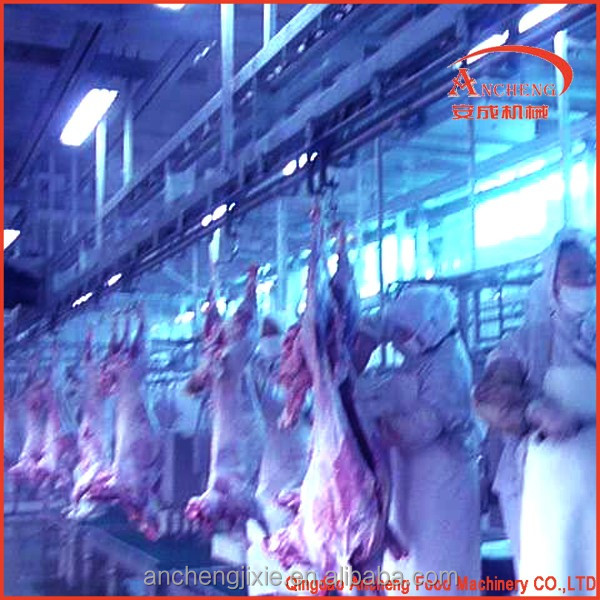 Cattle butchery slaughter equipment beef cutting machine for cow meat processing line