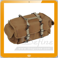 Hot sale and adjustbale dslr camera case digital canvas bag