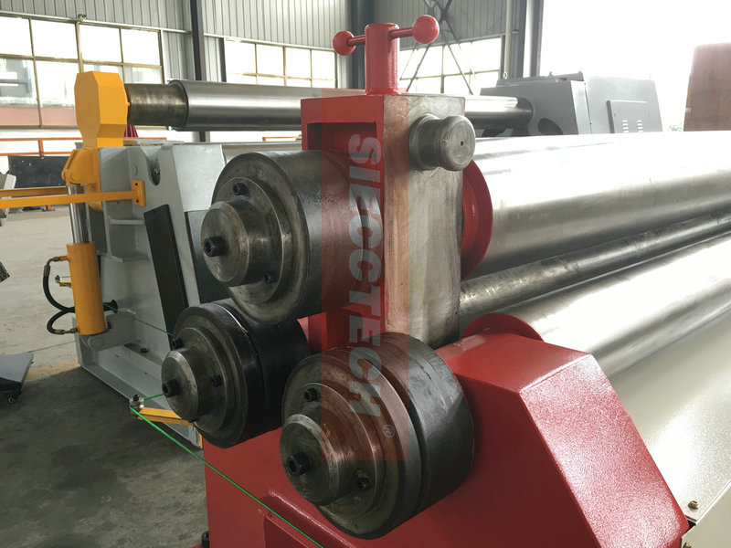 3 ROLLER ASYMMETRICAL BENDING ROLL MACHINE/CONE AND PROFILE ROLLING MACHINE