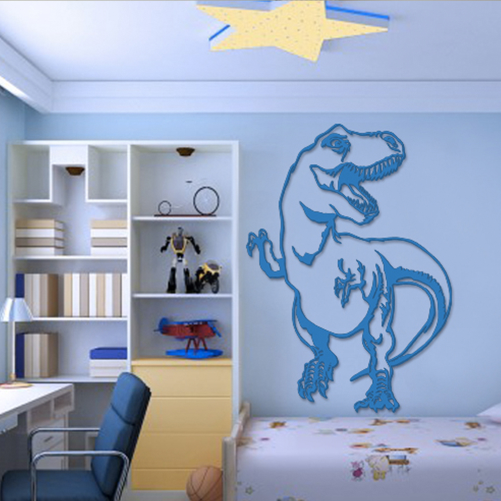 why to order decorative custom 3d bedroom cartoon text wall sticker