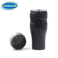 Friendly coffee travel coffee mug base dimeter is fit in standard car cup holder