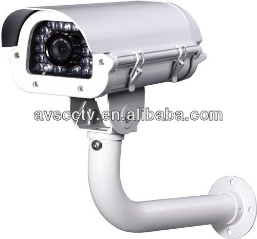 50M Distance IR Waterproof Pole IR Car License Plate Recognition Camera