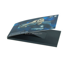 customized automatic Video Brochure Card for gift , 480*272 Pixel size
