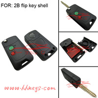 Car Key Proton key 2 Button Remote FLIP Key Case shell Suit for Wira 415 416 Persona mit11r