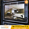 Factory Price Acrylic Hanging Picture Frame Acrylic LED Frame Hanging Crystal Acrylic Picture Frame with LED Light