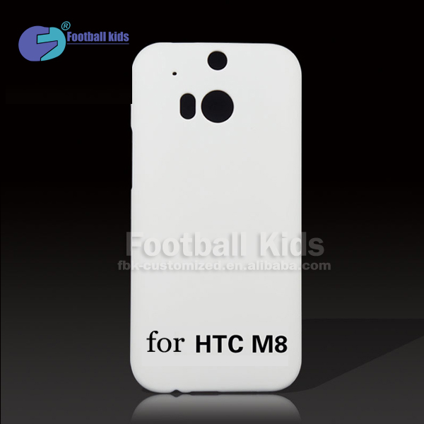 Blank 3d sublimation cover for HTC ONE M8 OEM phone case,matte blank 3d sublimation product phone cover case for HTC