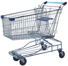 Supemarket Used Folding Shopping Carts Sale For Senior