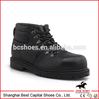 man boots for oil field/newest man mountain shoe/genuine leather work shoes