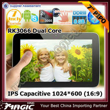 7 inch IPS screen tablet pc with dual core - pipo s3 pro