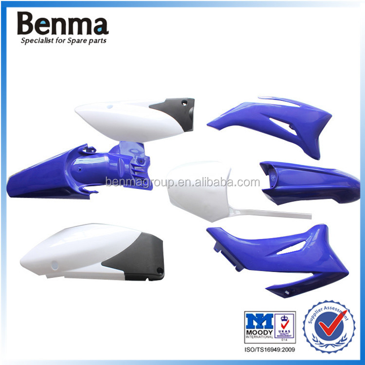 China wholesale colorful TTR110 off road/motorbike/motorcycle fairing