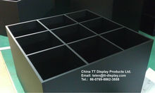 Hot selling grey plexiglass acrylic square box