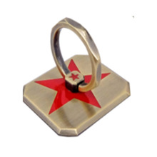 Finger Metal Star Ring Holder 360 Degree Rotating Ring Stand For Mobile Phone