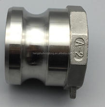 high quality quick type B type c camlock hose pipe coupling Aluminium Stainless Steel Nylon PP flexible coupling