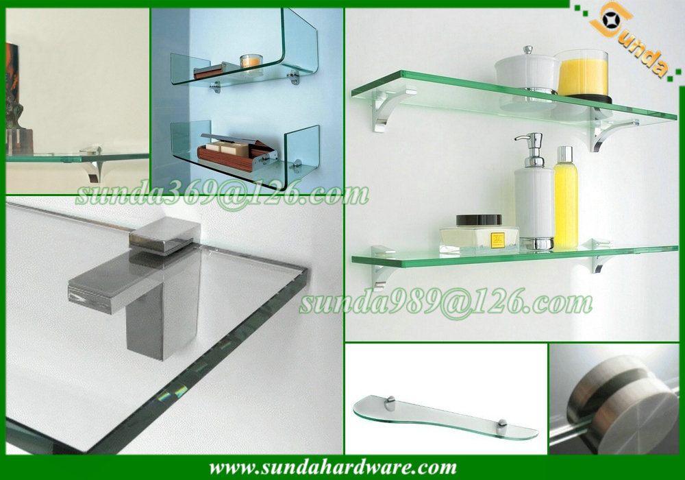 furniture adjustable glass shelf support
