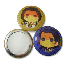 Private One-side Top Quality Factory Handwork Pocket Mirror, Cheap Tin Customized Compact Mirror,Professional Supplier and Maker
