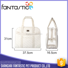Luxury outdoor pet carrier bag