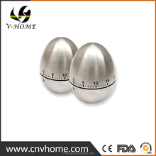 Shenzhen Factory Price Christmas Sale Egg Shape 60 Minute Digital Kitchen Timer Stainless steel Cooking Timer