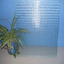 factory price colored/clear figured glass with free patterns