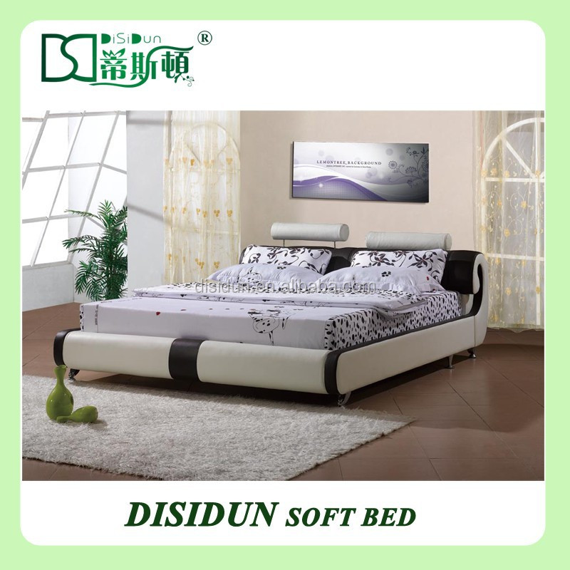 bed leather bed italian mode rnking size bed bedroom furniture