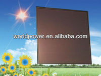 50W 100W 200W BIPV Thin Film Amorphous Silicon Solar Panel