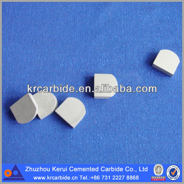 Tungsten carbide saw tips for welding cutting tool parts