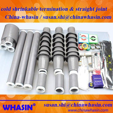 6kv-35kv cold shrink joint termination cable accessory cold shrinkable 1core 3core terminal straight joints