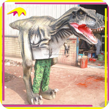 KANO4924 Artificial Walkable Realistic Dinosaur Suits Halloween Animatronic