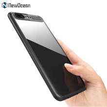 New design Hard back Soft bumper TPU Acrylic mobile Phone Case For OnePlus 5